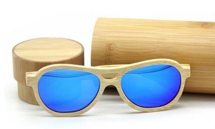 Houten zonnebril Bamboe